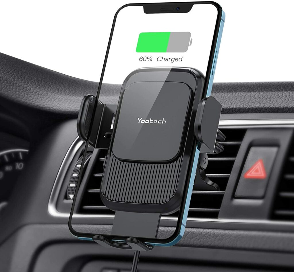 Yootech Wireless Car Charger Mount